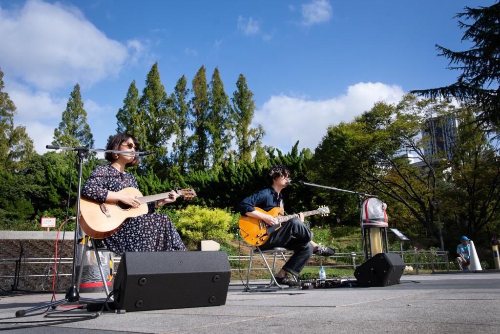 靭公園 秋のバラ祭り2019